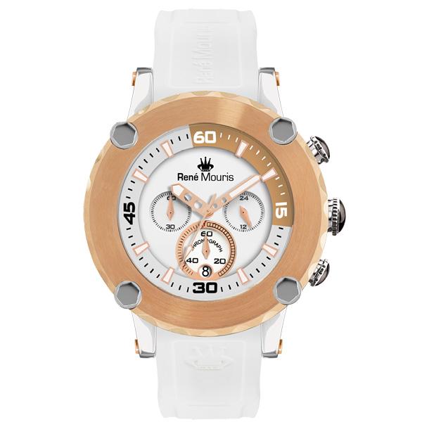 کد تخفیف                                      ساعت مچی عقربه ای مردانه رنه موریس مدل Santa Maria 90103 RM4