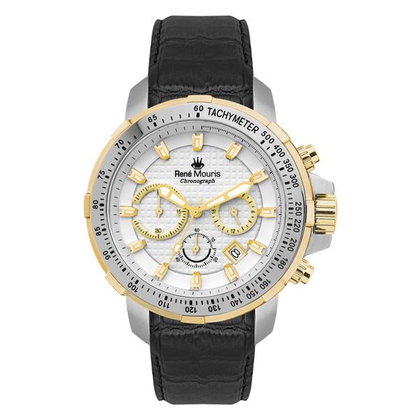 ساعت مچی عقربه ای مردانه رنه موریس مدل Traveller 90104 RM5 16