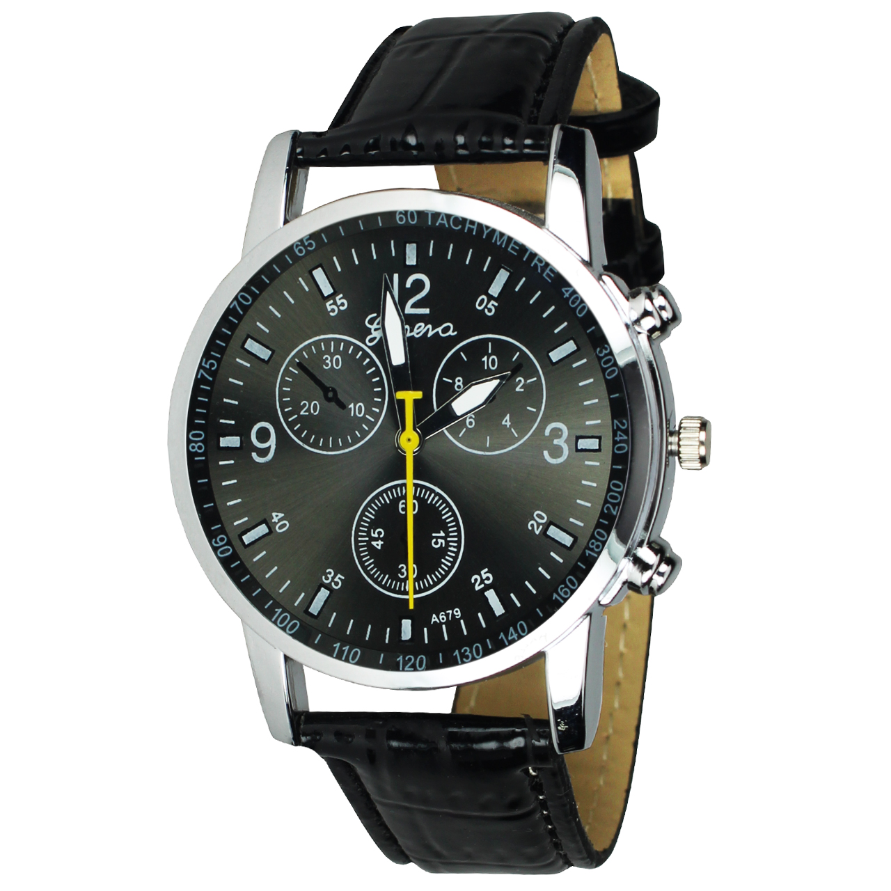ساعت مچی عقربه ای مردانه جنوا مدل M01