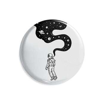 پیکسل ماسا دیزاین طرح فضانورد فضا آسمان ستاره کد AS487