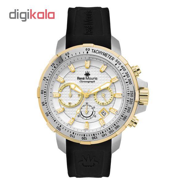 خرید ساعت مچی عقربه ای مردانه رنه موریس مدل Traveller 90106 RM5