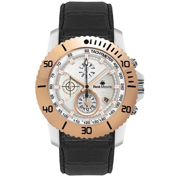 کد تخفیف                                       ساعت مچی عقربه ای مردانه رنه موریس مدل L.I.F.L 90113 RM4