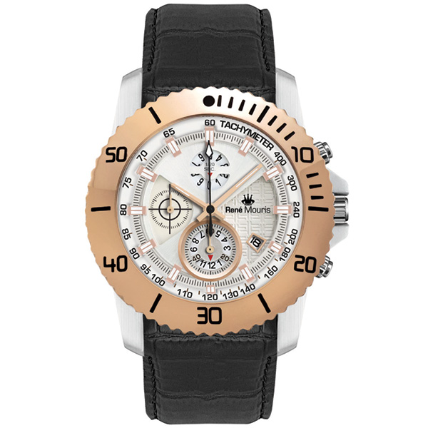 ساعت مچی عقربه ای مردانه رنه موریس مدل L.I.F.L 90113 RM4 4