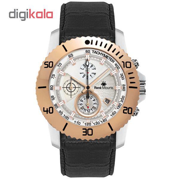 خرید ساعت مچی عقربه ای مردانه رنه موریس مدل L.I.F.L 90113 RM4
