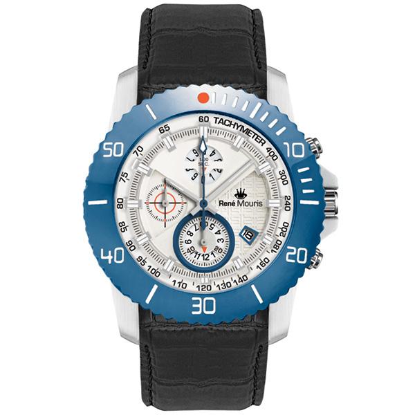 کد تخفیف                                       ساعت مچی عقربه ای مردانه رنه موریس مدل L.I.F.L 90113 RM7