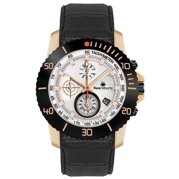 کد تخفیف                                       ساعت مچی عقربه ای مردانه رنه موریس مدل L.I.F.L 90113 RM11