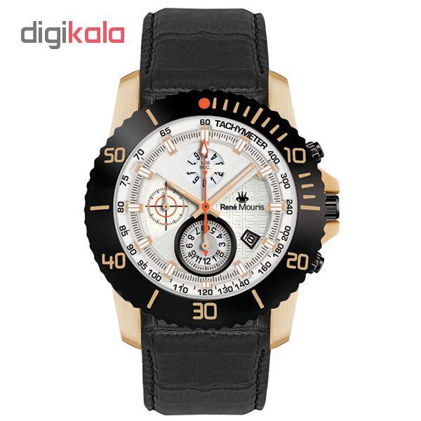 خرید ساعت مچی عقربه ای مردانه رنه موریس مدل L.I.F.L 90113 RM11