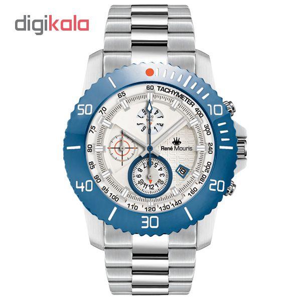 ساعت مچی عقربه ای مردانه رنه موریس مدل L.I.F.L 90114 RM7