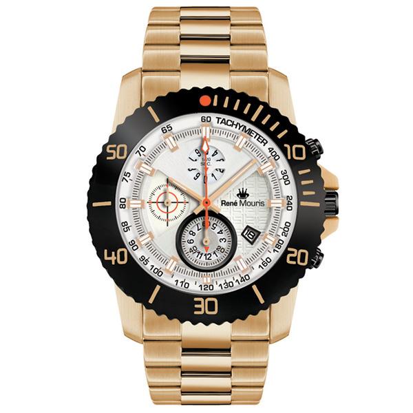 کد تخفیف                                      ساعت مچی عقربه ای مردانه رنه موریس مدل L.I.F.L 90114 RM11