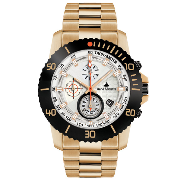 ساعت مچی عقربه ای مردانه رنه موریس مدل L.I.F.L 90114 RM11 43