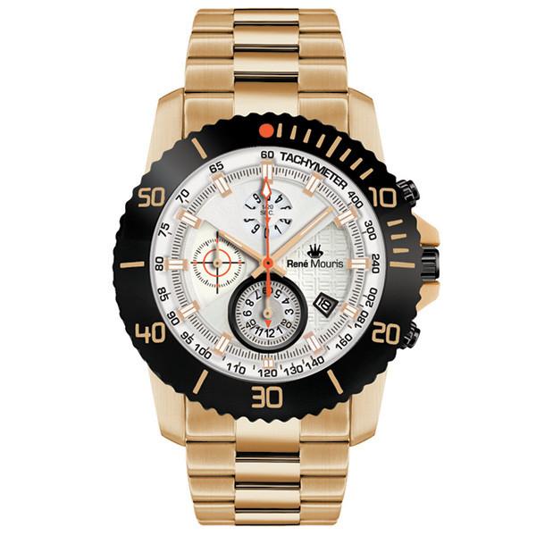 ساعت مچی عقربه ای مردانه رنه موریس مدل L.I.F.L 90114 RM11