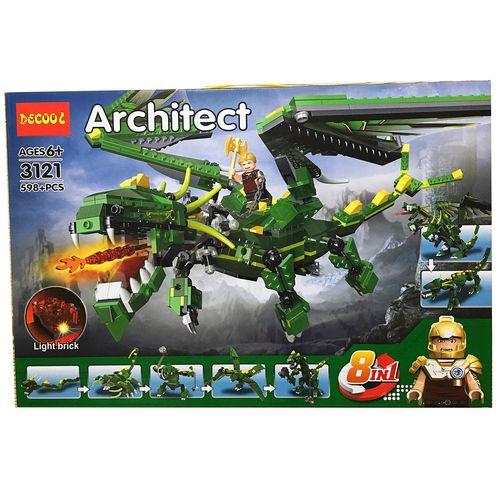 ساختنی دکول مدل 3121 اژدها