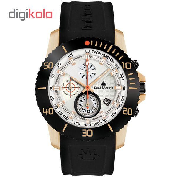 خرید ساعت مچی عقربه ای مردانه رنه موریس مدل L.I.F.L 90115 RM11