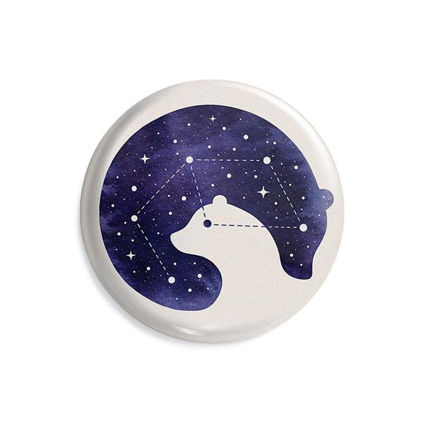 پیکسل ماسا دیزاین طرح ماه خرس ستاره کد AS545