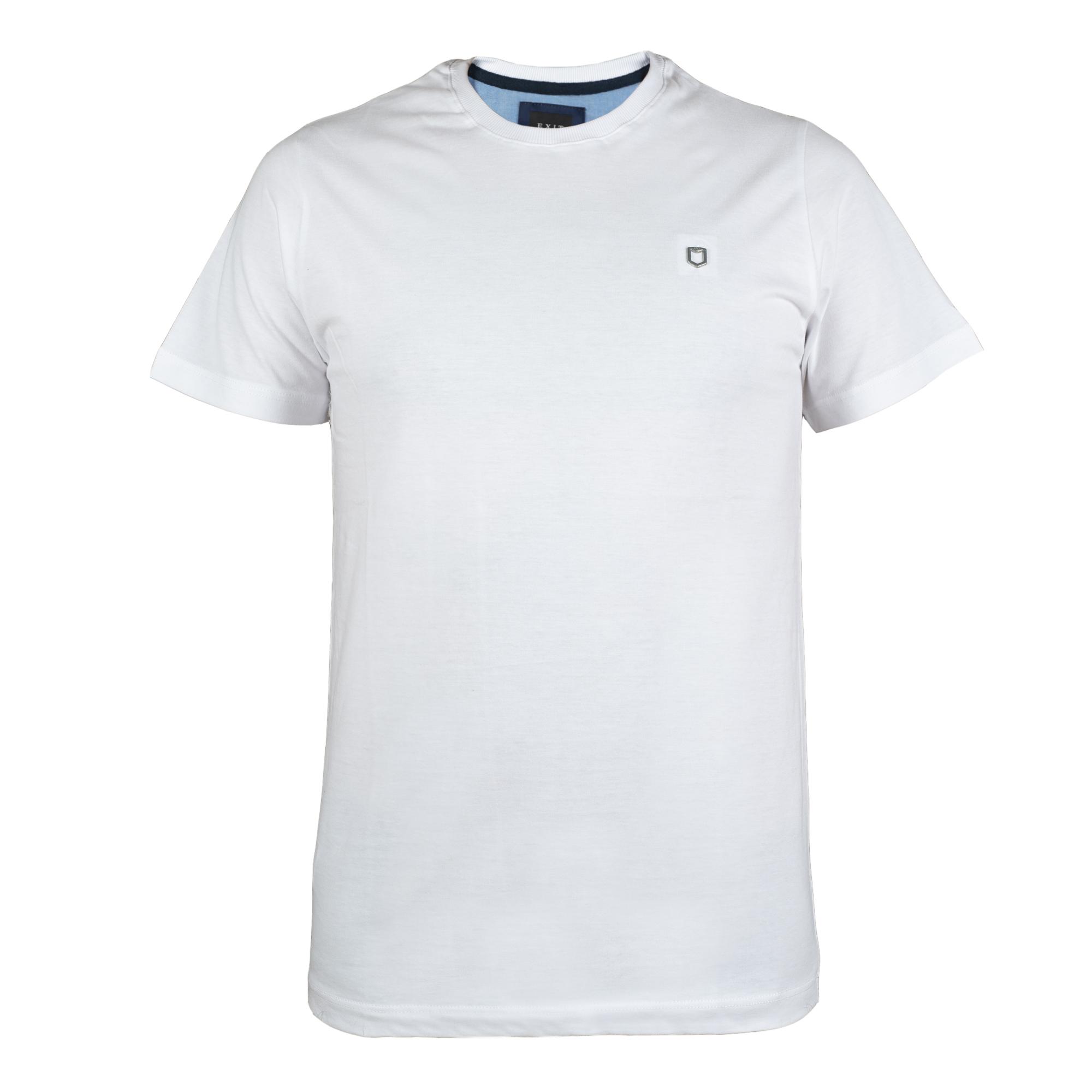 تی شرت مردانه اگزیت مدل T-Shirt-829-041 رنگ سفید