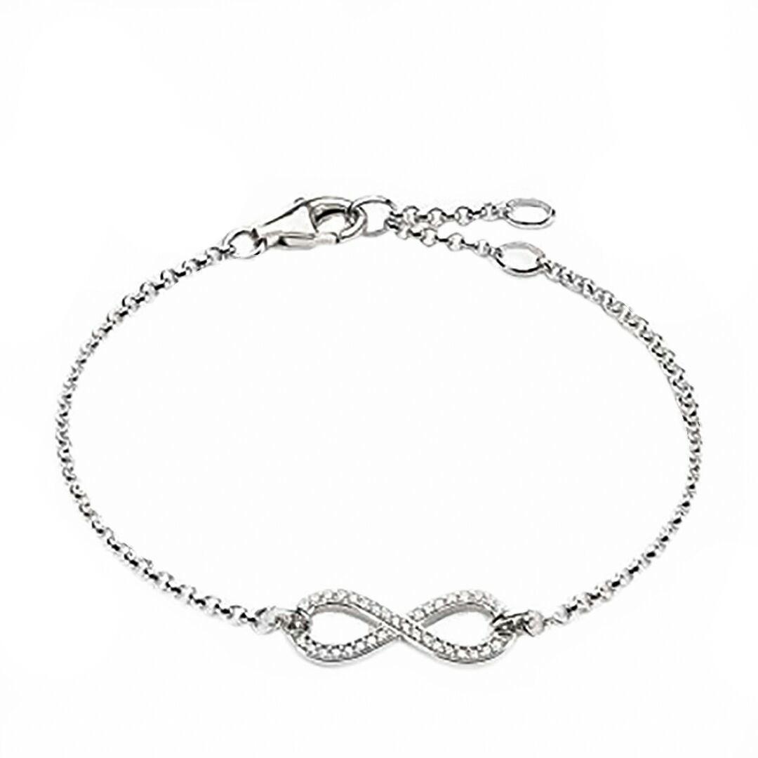قیمت دستبند نقره زنانه کد DS1