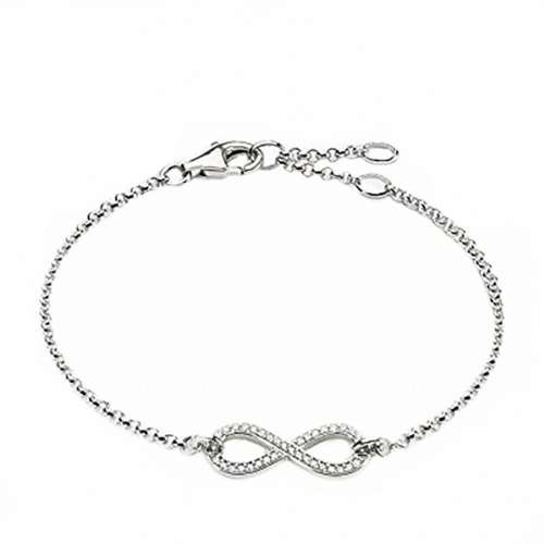 دستبند نقره زنانه کد DS1