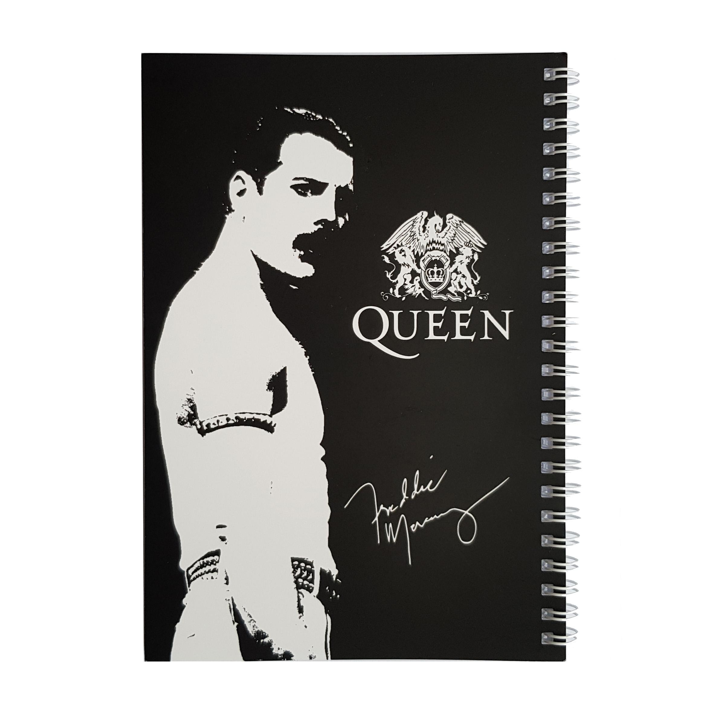 دفتر یادداشت طرح queen مدل BSB-00606