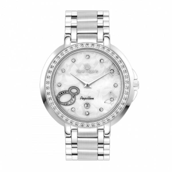 ساعت مچی عقربه ای زنانه رنه موریس مدل Papillon 50111 RM2