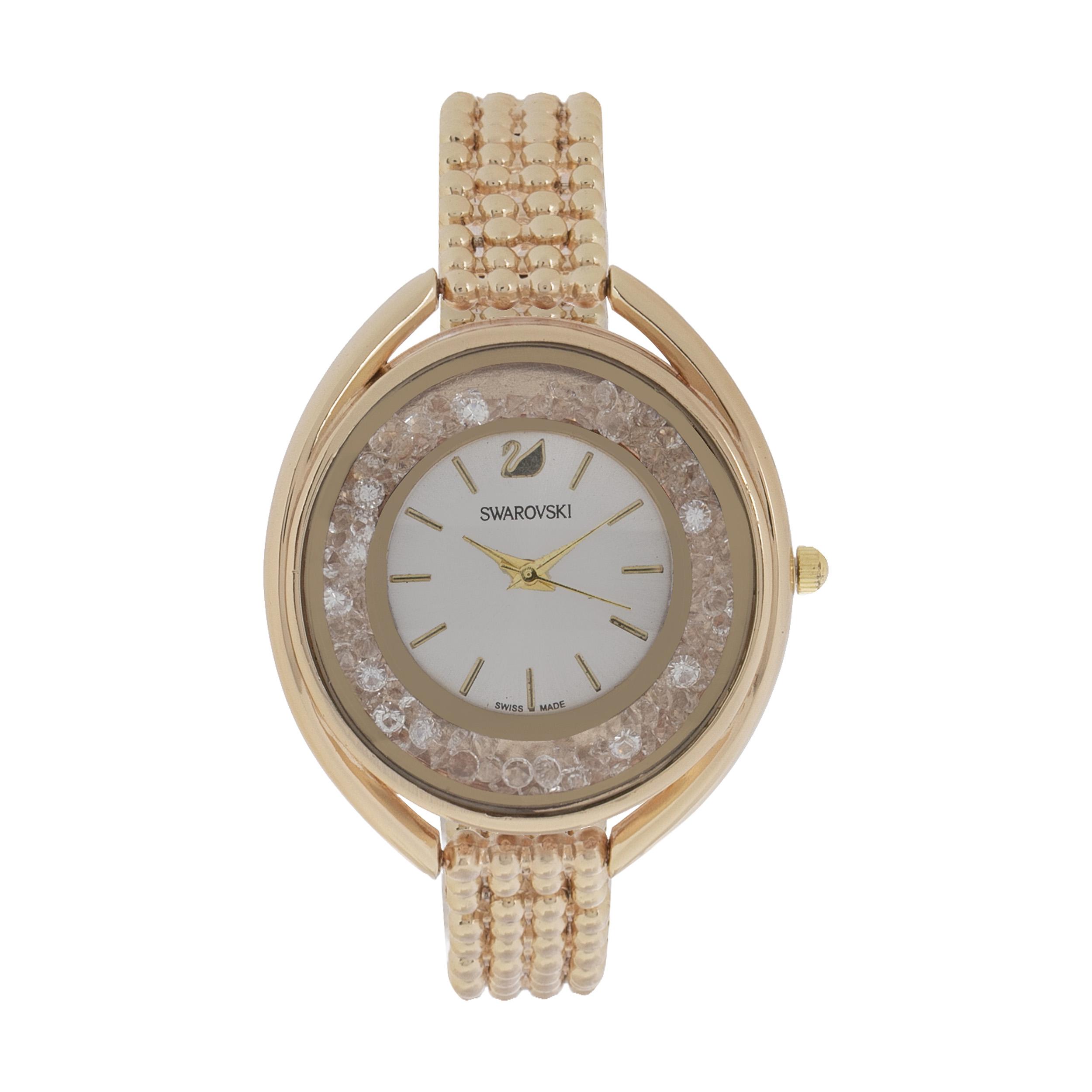 خرید ساعت مچی عقربه ای زنانه مدل  SWAROVSKI H16
