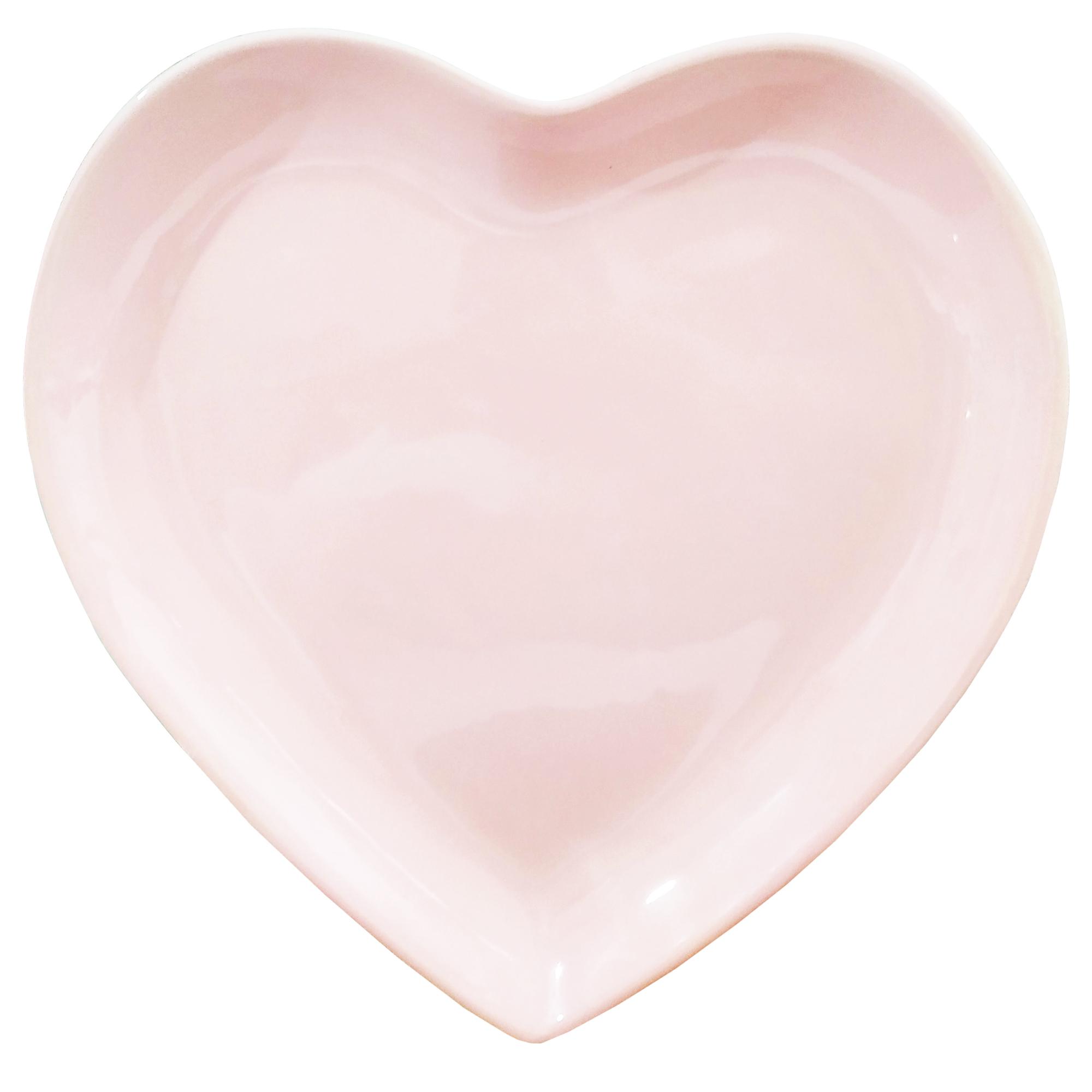 عکس بشقاب غذاخوری طرح قلب کد093 بسته 2 عددی