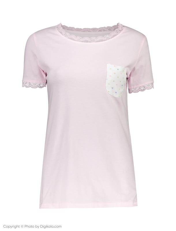 تی شرت و شلوار نخی زنانه مهربان - ناربن