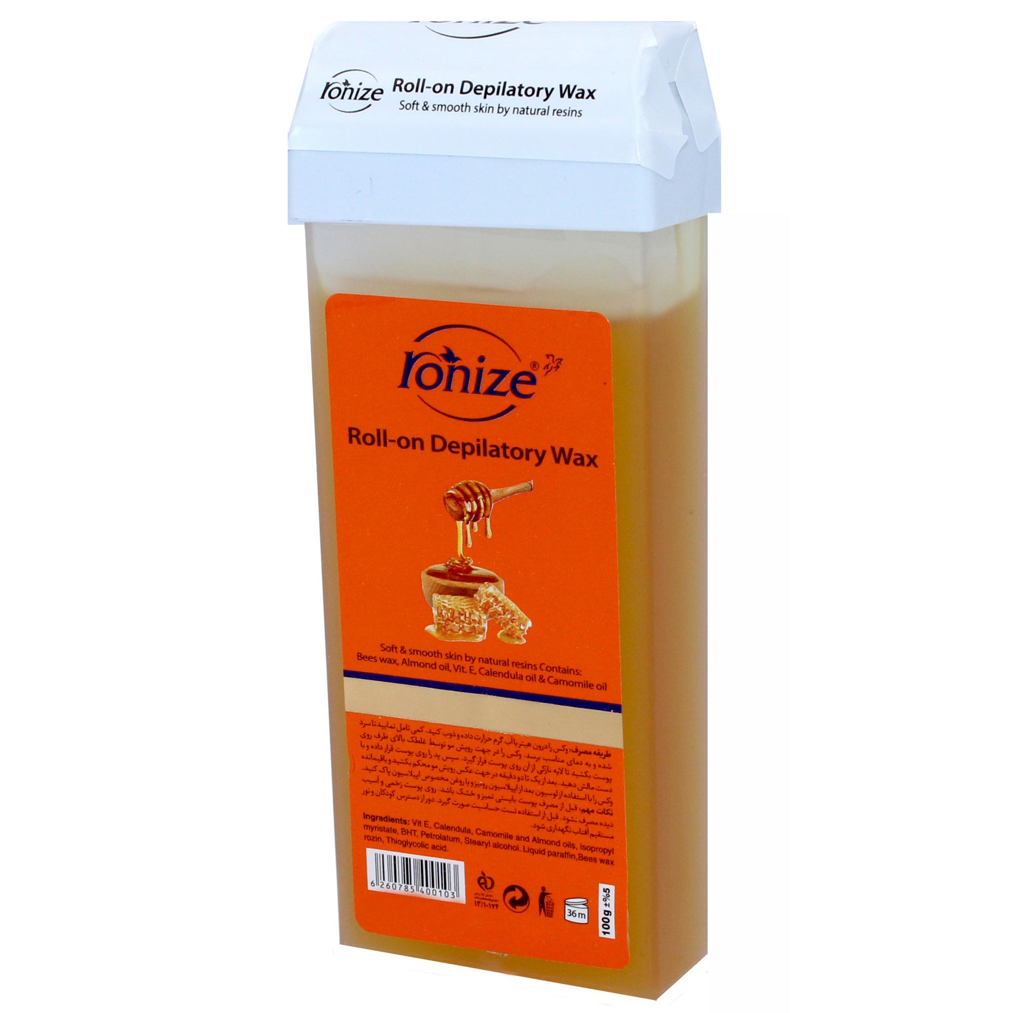 خرید موم سرد رونیز مدل Honey وزن ۱۰۰ گرم