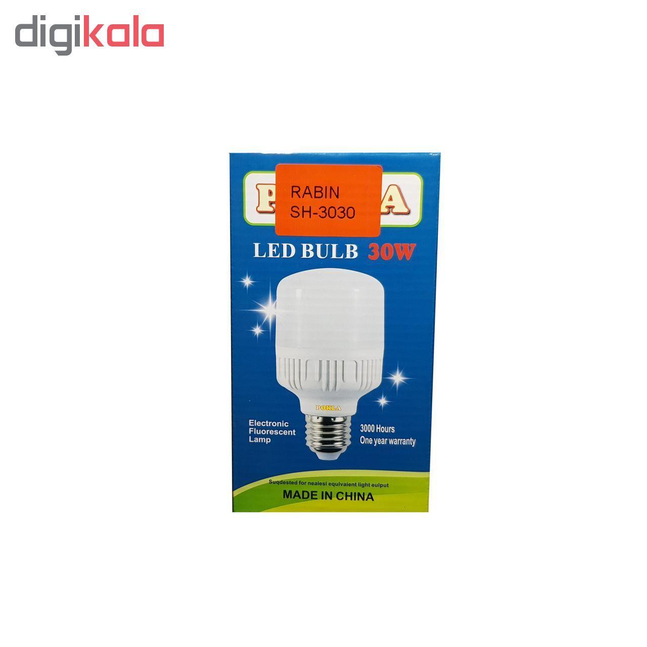 لامپ ال ای دی 30 وات پوکلا کد SH_3030  main 1 3