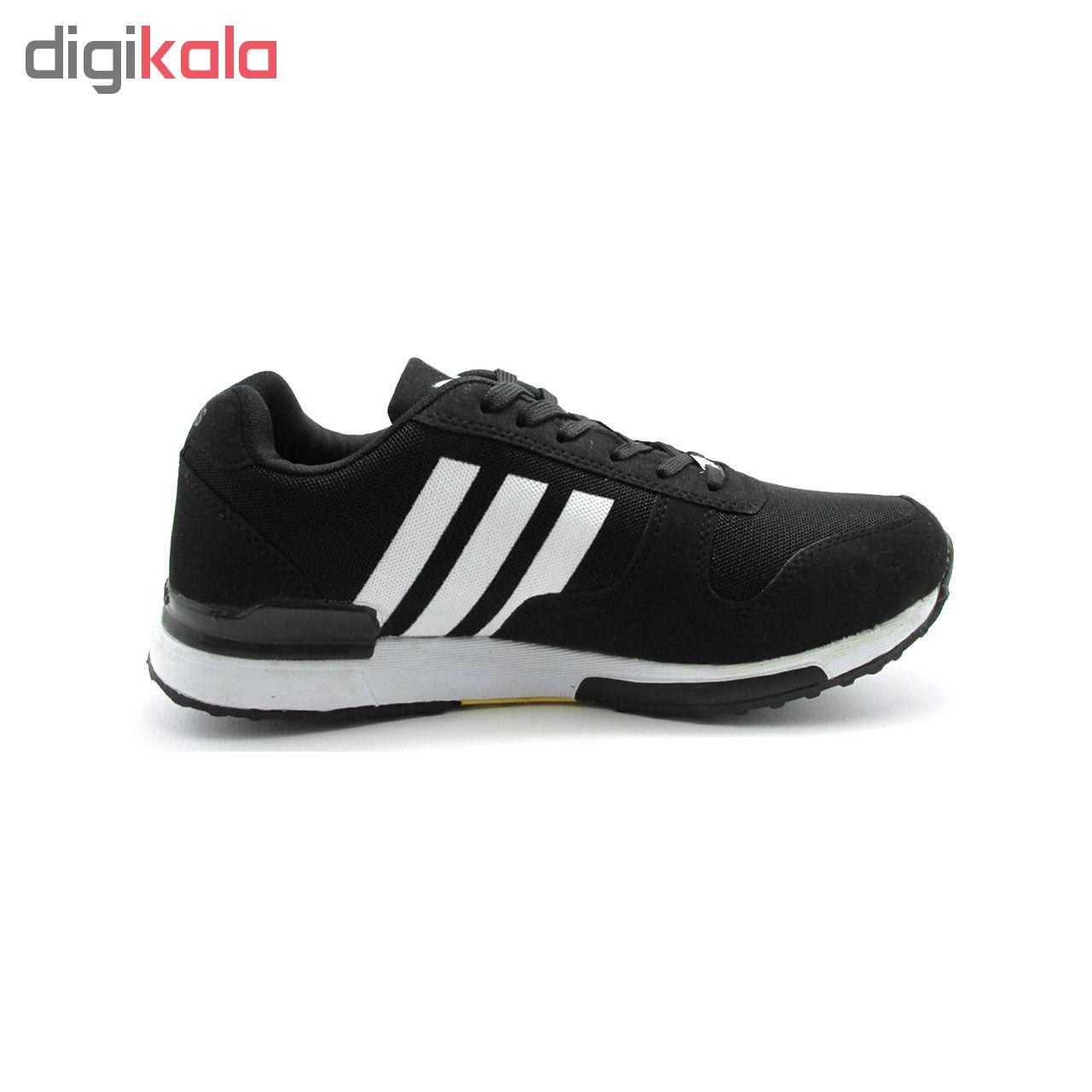 کفش مخصوص پیاده روی مردانه مدل B16 رنگ مشکی