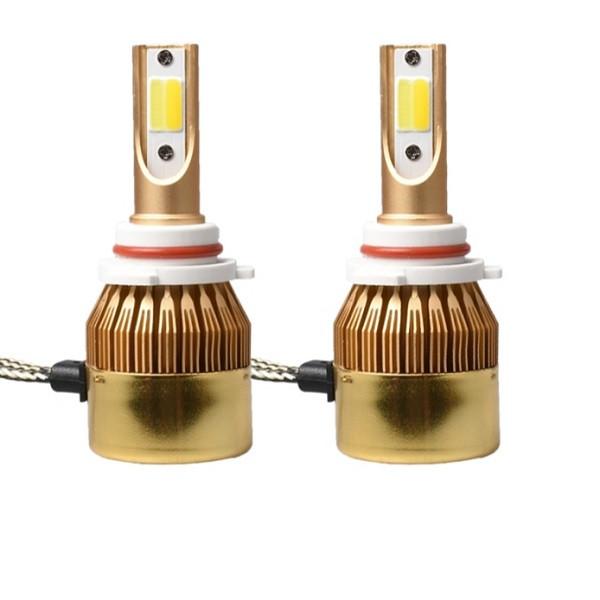 لامپ خودرو  3 رنگ مدل H1 بسته 2 عددی