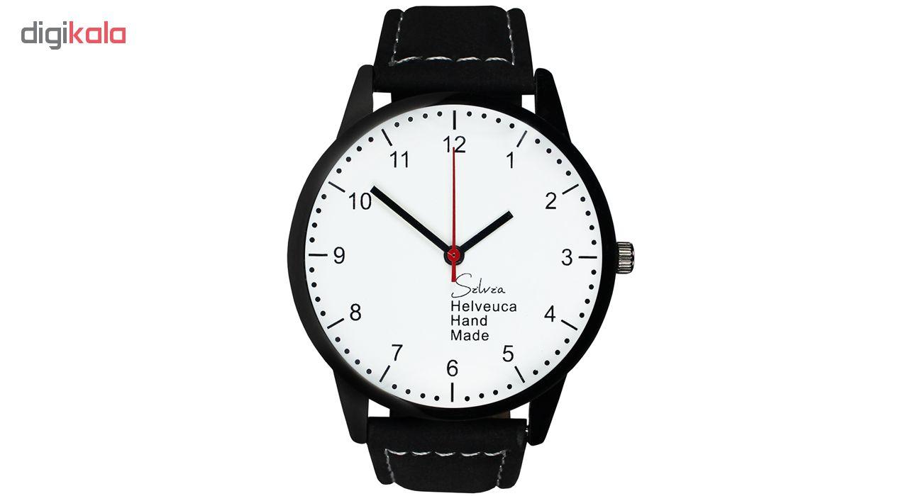 خرید ساعت مچی عقربه ای مردانه و زنانه سیلویا مدل S-03 | ساعت مچی