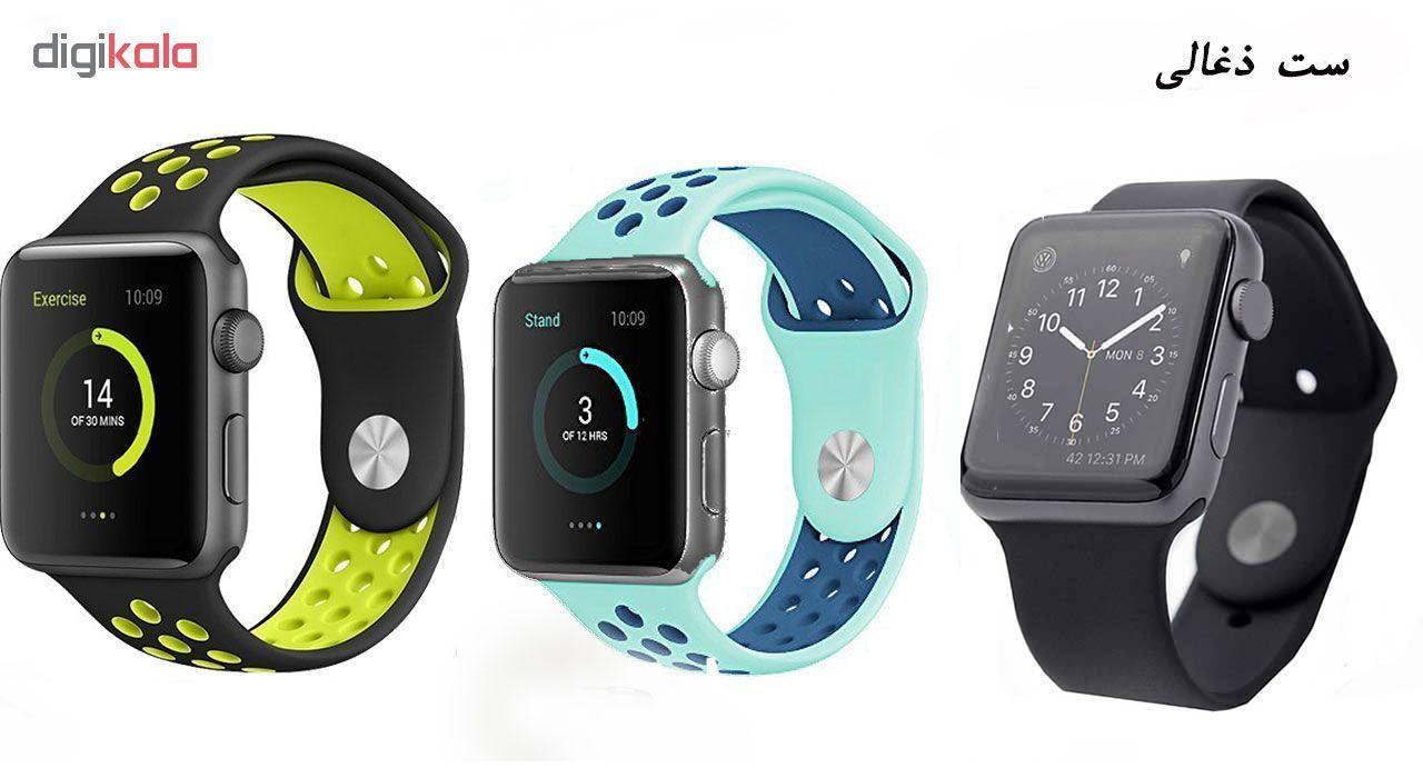 ساعت هوشمند مدل  iWO-s  همراه دو بند اضافه نایک و محافظ صفحه نمایش و بگ شیدتگ main 1 22