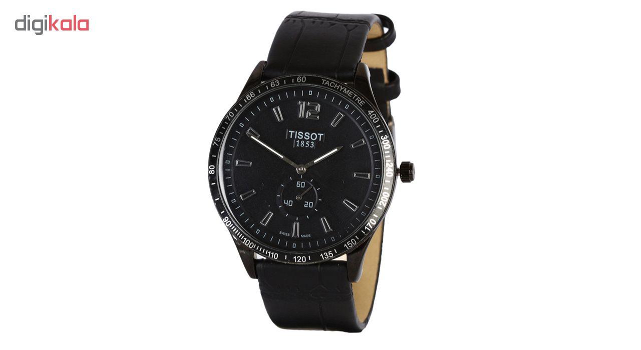 ساعت مچی عقربه ای مردانه مدل T2Eng-Bk