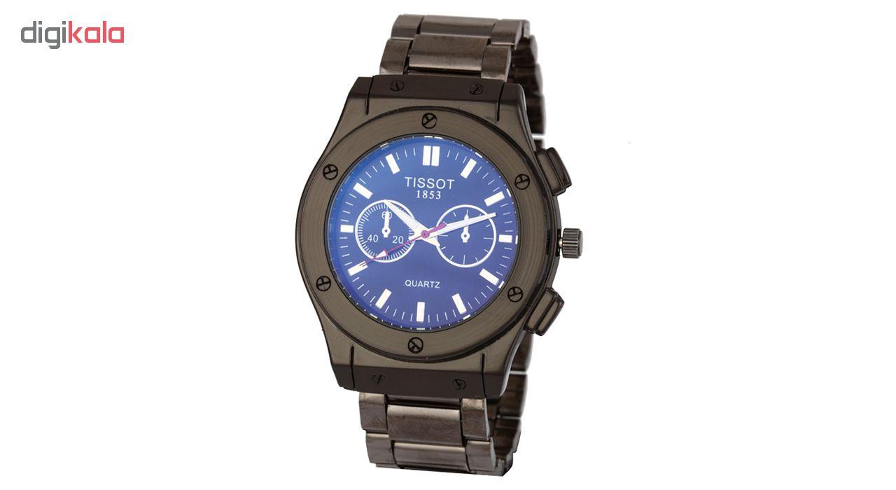 ساعت مچی عقربه ای مردانه مدل T2Eng-StBk