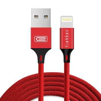 کابل تبدیل USB به لایتنینگ ارلدام مدل EC-015i طول 1 متر