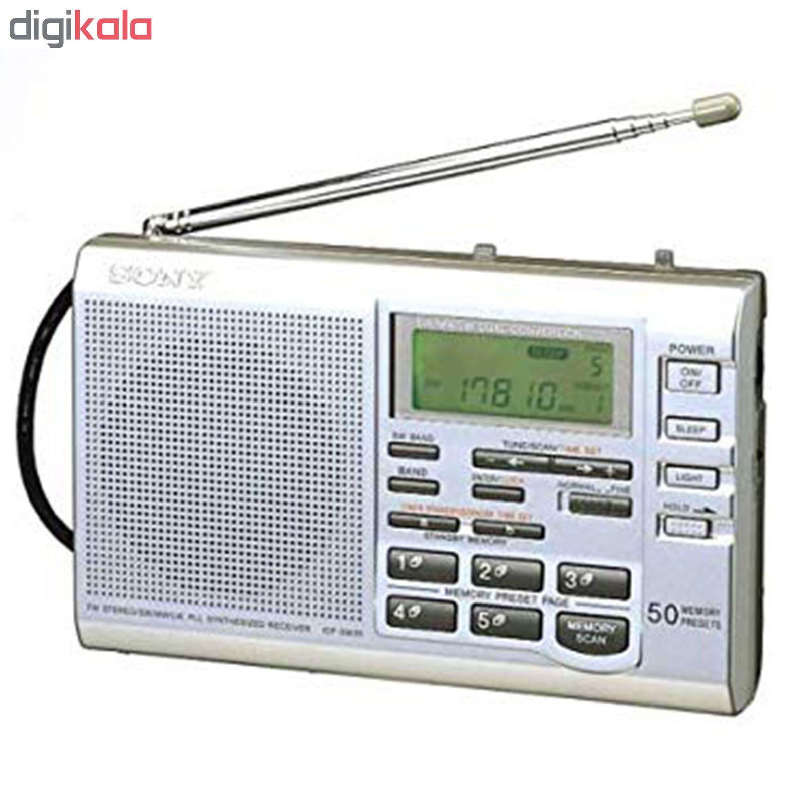 رادیو سونی مدل ICF-SW35 main 1 2
