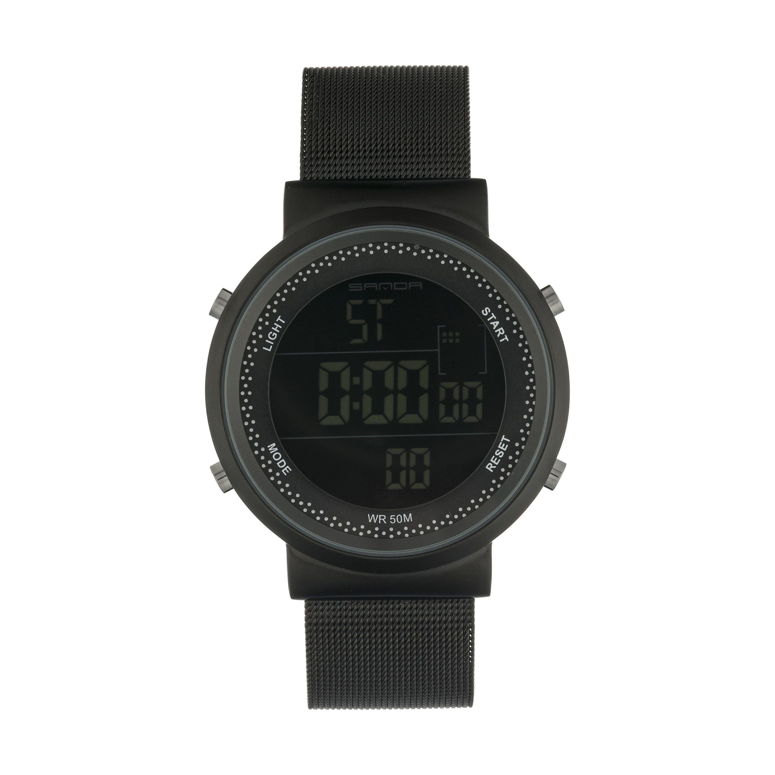 کد تخفیف                                      ساعت مچی دیجیتال مردانه مدل CR2016-383-M به همراه دستمال مخصوص نانو برند کلیر واچ                     غیر اصل