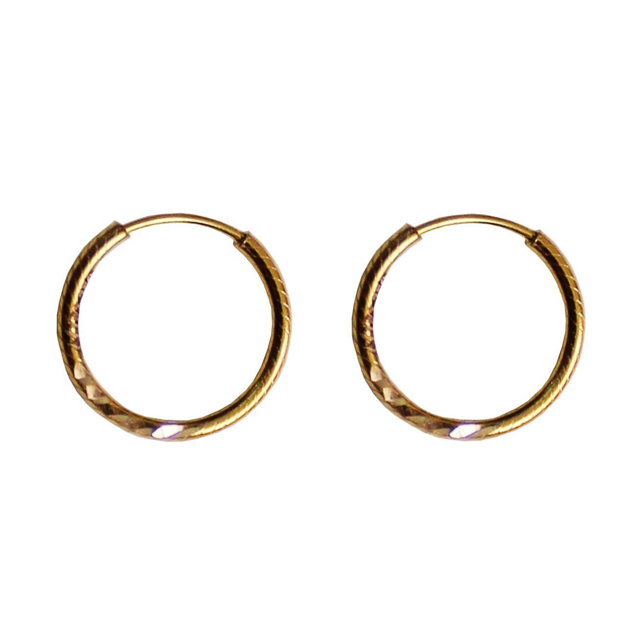 قیمت گوشواره طلا 18 عیار نازنین کد A501