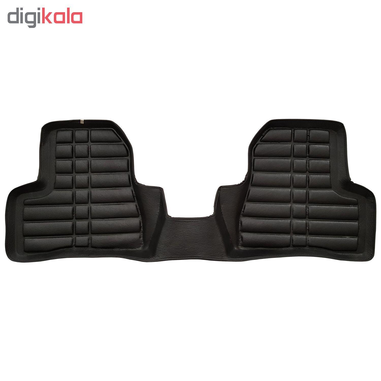 کفپوش سه بعدی چرمی ( پشت نمدی ) خودرو مناسب برای پژو 206 main 1 3