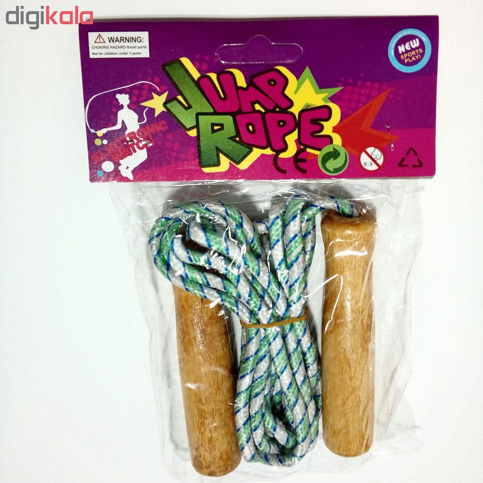 طناب ورزشی دسته چوبی جامپ روپ کد 224 main 1 1