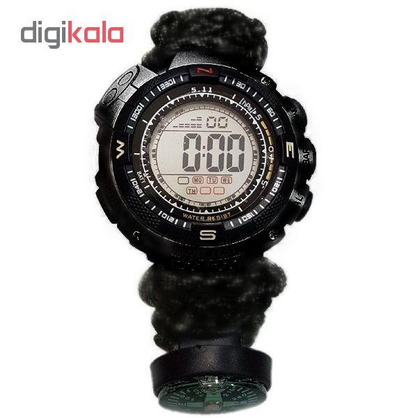 ساعت مچی دیجیتال مدل پاراکورد E20 M