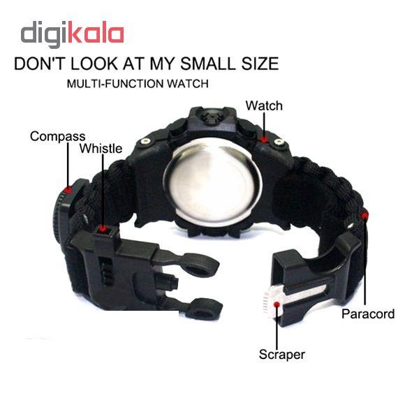 ساعت مچی دیجیتال مدل پاراکورد E20 M             قیمت