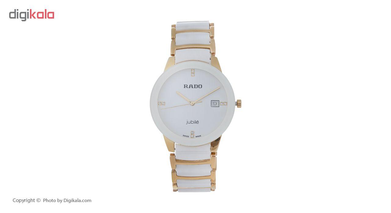 ساعت مچی عقربه ای مردانه مدل RAD 1809G / SE-TA به همراه دستمال مخصوص نانو برند کلیر واچ