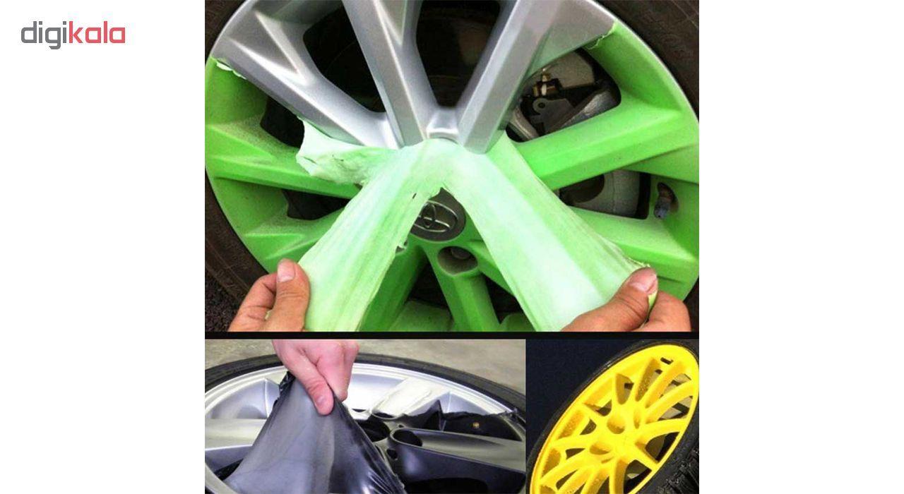 اسپری رنگ پلاستیک مشکی مات رینگ و بدنه خودرو 51 مدل Removable حجم 400 میلی لیتر main 1 8