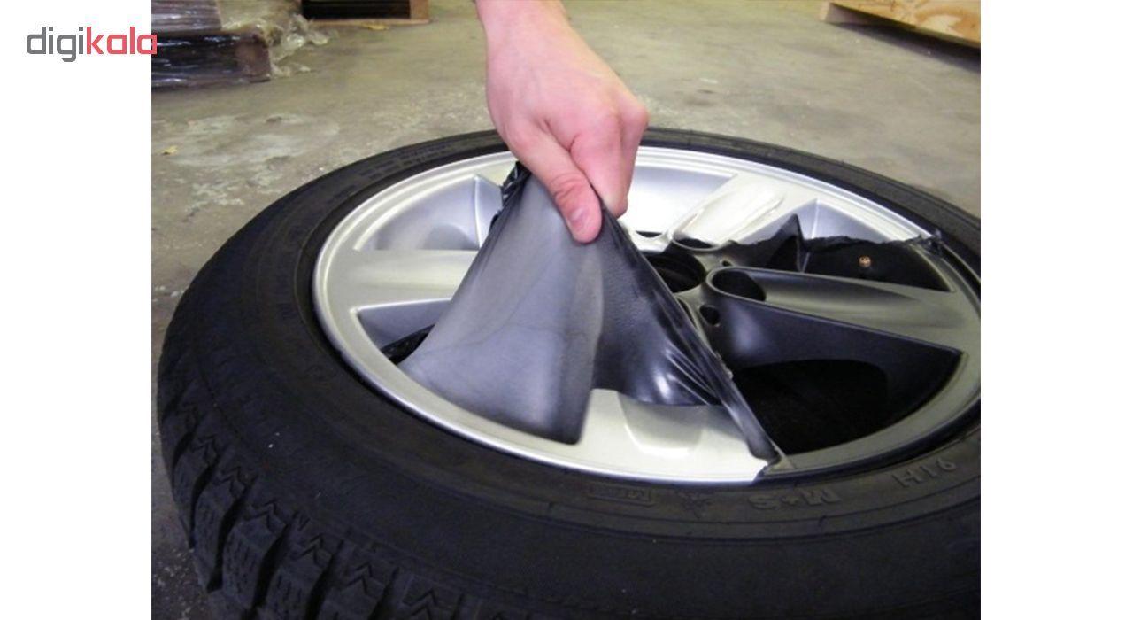اسپری رنگ پلاستیک مشکی مات رینگ و بدنه خودرو 51 مدل Removable حجم 400 میلی لیتر main 1 7