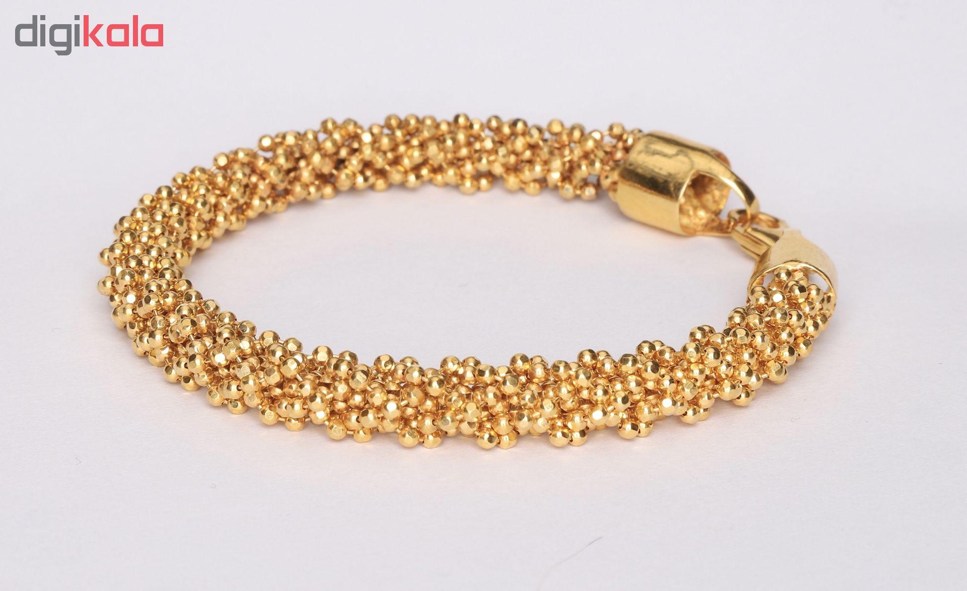 دستبند طلا 18 عیار گوی گالری مدل G165