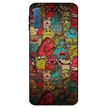 کاور کی اچ کد 0101 مناسب برای گوشی موبایل سامسونگ Galaxy A7 2018/A750