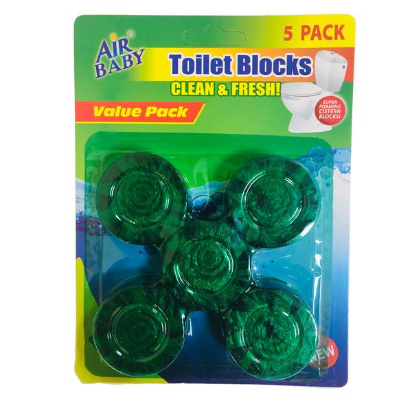 قرص خوشبو و ضدعفونی کننده توالت فرنگی ولو پک مدل کمیکس ایر بسته 5 عددی کد 3035