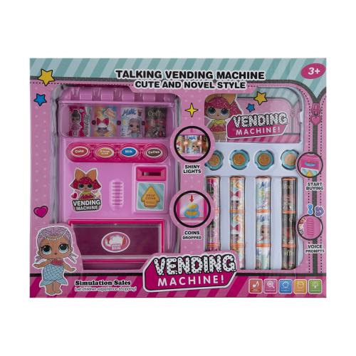 ست اسباب بازی دستگاه خودکار فروش مدل LOL طرح vending machine