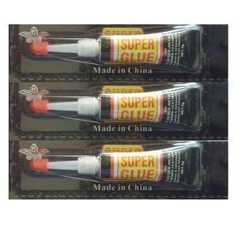چسب قطره ای سوپر گلو مدل A7 بسته 3 عددی